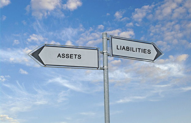 Road sign to assets and liabilities