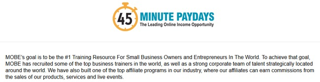45 minute paydays review