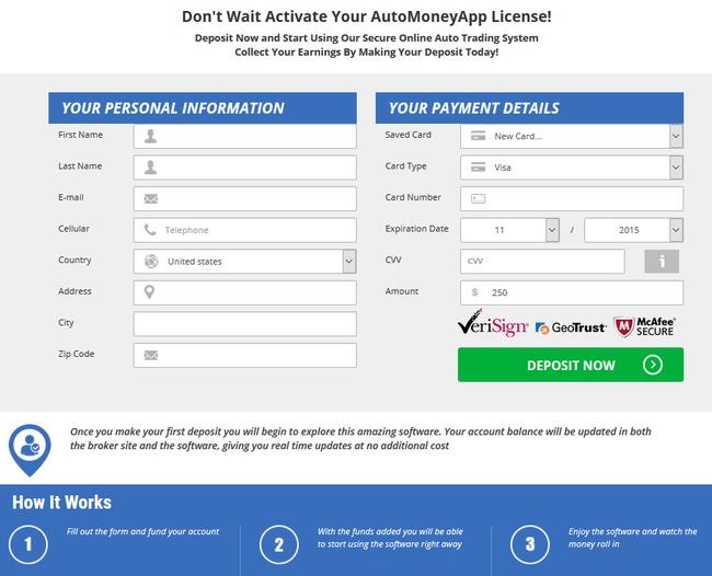auto money app scam