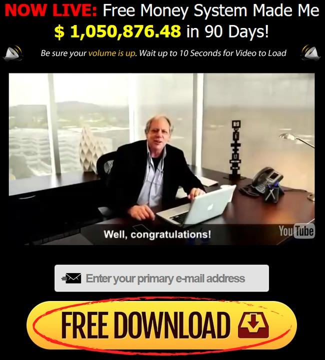 Owner: (Portrayed to be): Walter Green. Free Money Machine Overview. As mentioned at the start of this review, the Free Money System website contains very little in the way of readable content. A number of scam factors are present, and your focus is quickly fixed on the all singing and all dancing video that greets you.