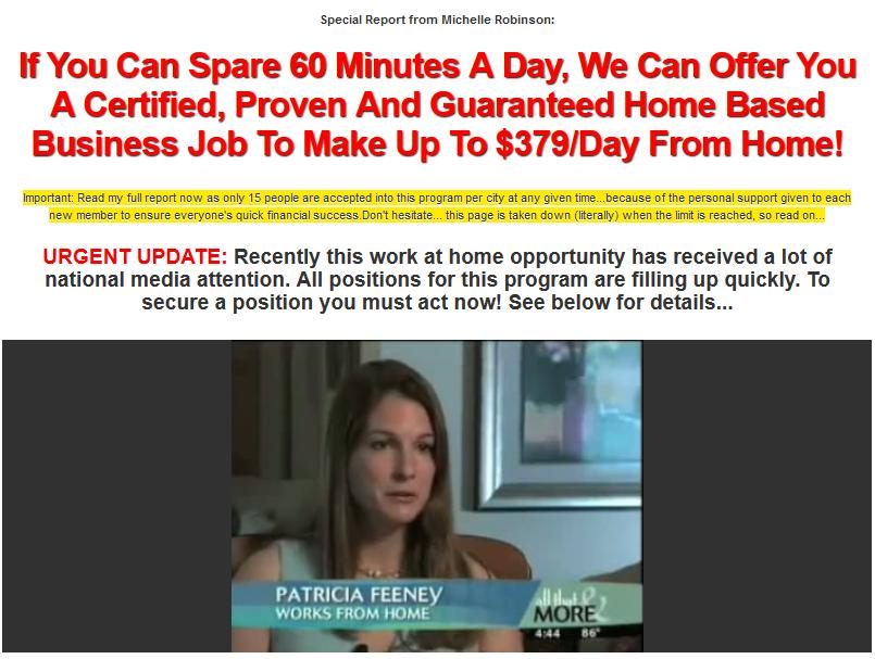 home career starter scam