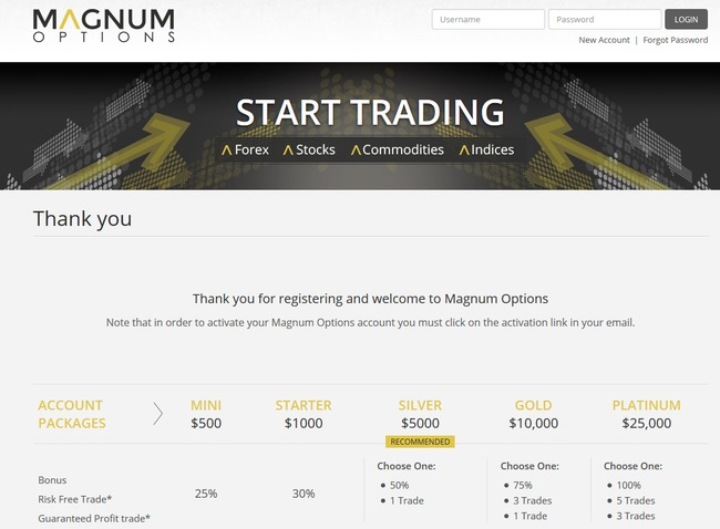 magnum options scam