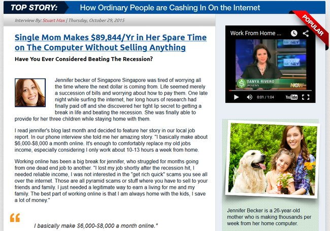 online cash source scam