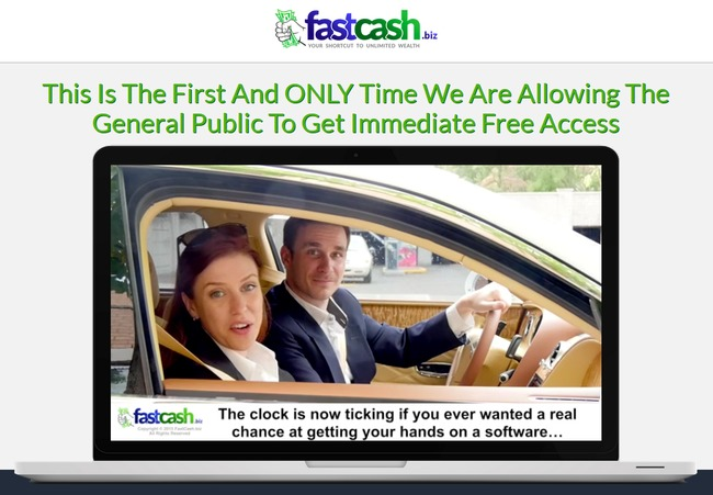 fast cash biz scam