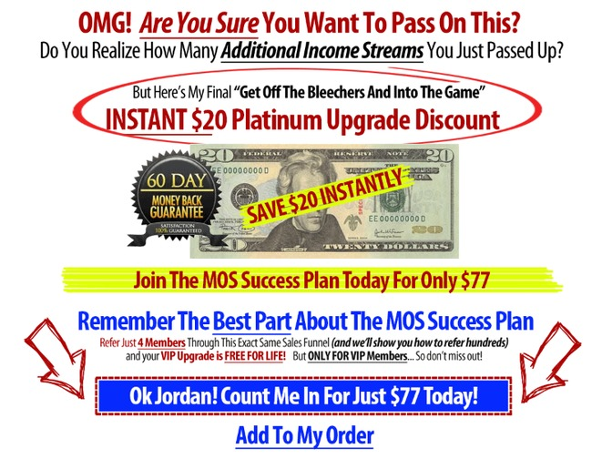 online success plan scam