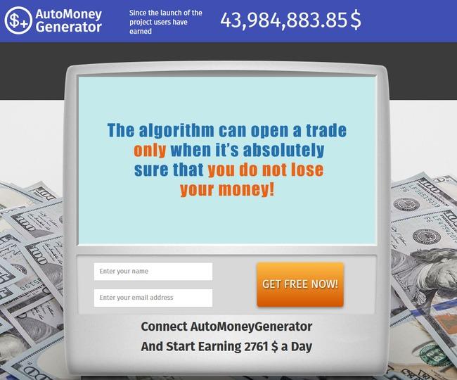 auto money generator scam