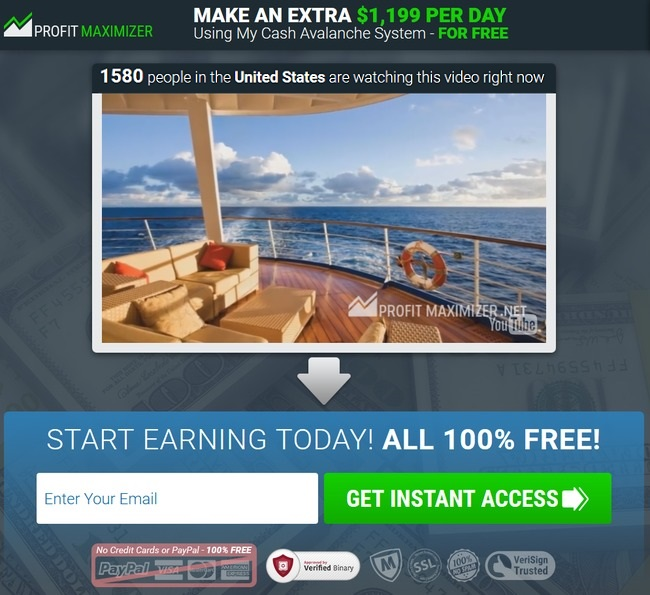 profit maximizer scam