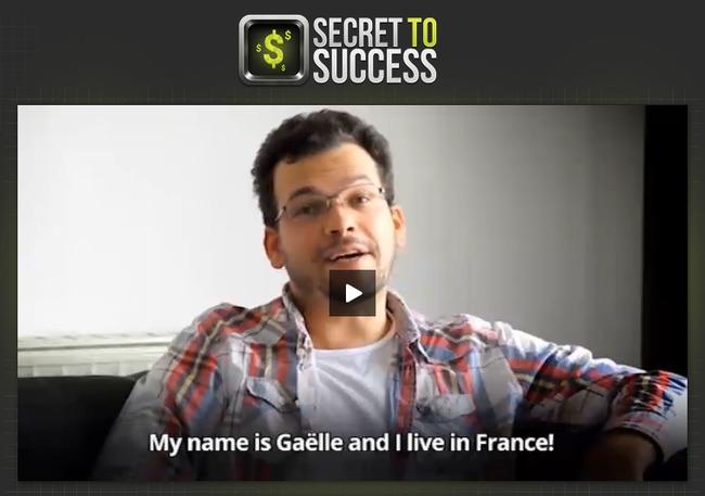 secret to success system scam