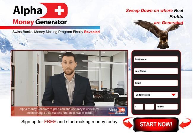 alpha money generator scam