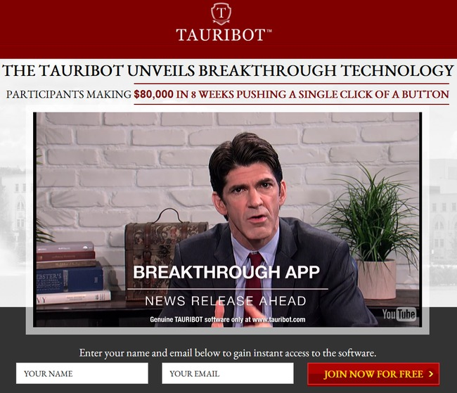 tauribot scam