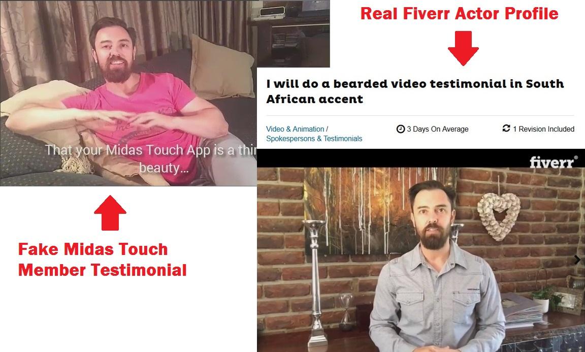midas touch scam