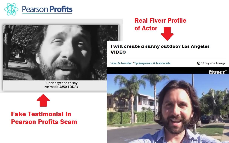 pearson profits scam