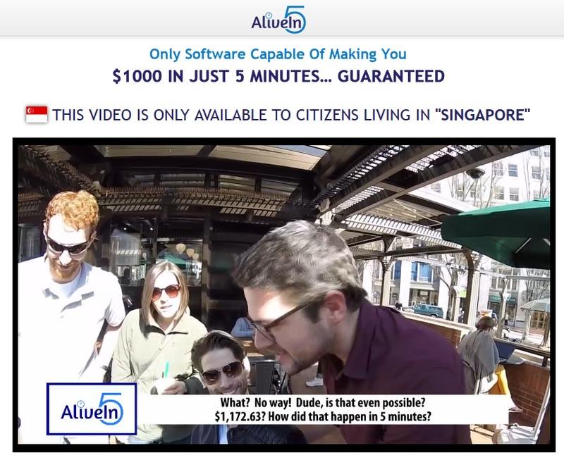 alivein5 scam review