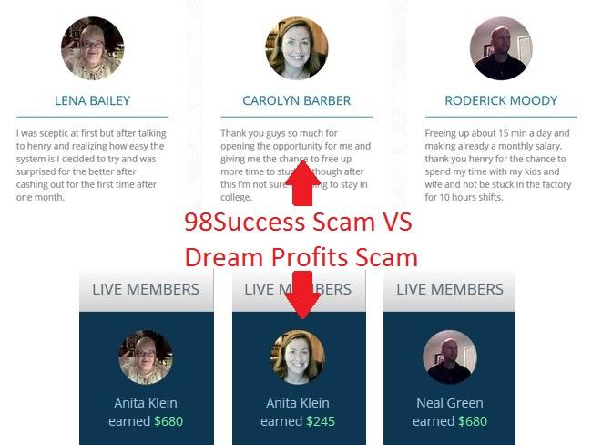 dream profits scam