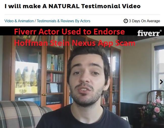 hoffman stein nexus app scam review