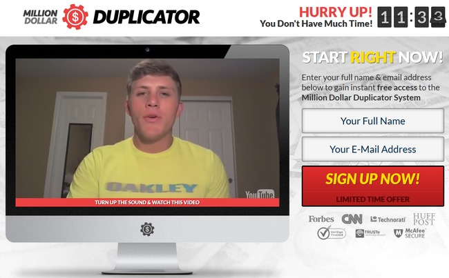 million dollar duplicator scam review