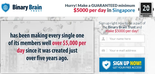 Veronica clayton binary options scam