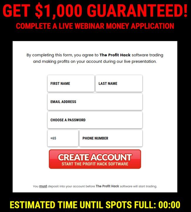 the profit hack scam review