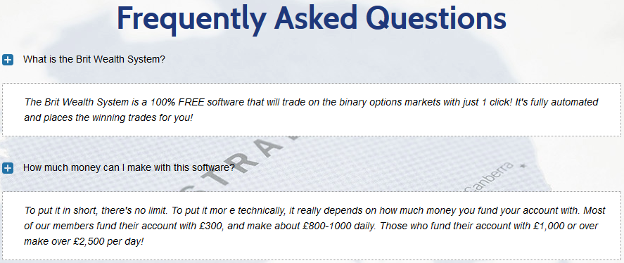 binary options brit method