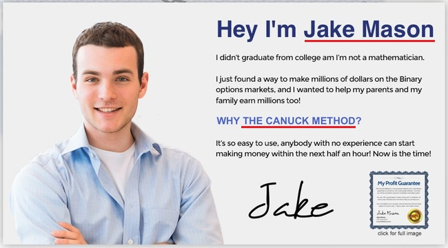 canuck wealth system fake member