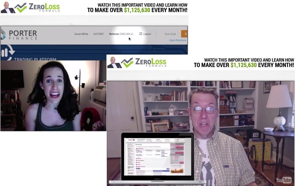 zero loss formula fake member testimonials