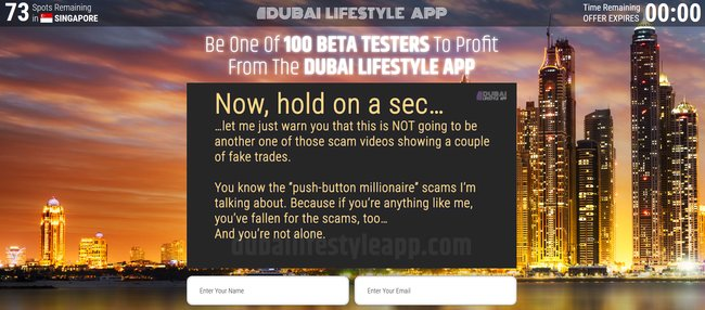 dubai lifestyle app scam review