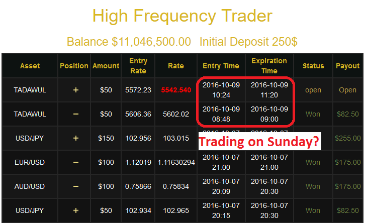high frequency trader scam review