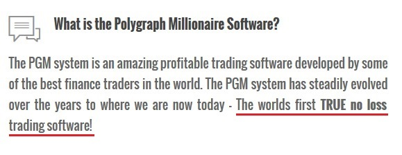 polygraph millionaire scam review