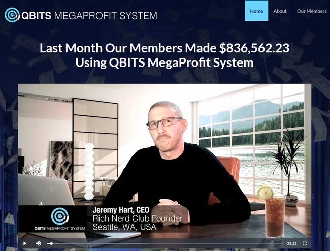 QBITS megaprofit scam review