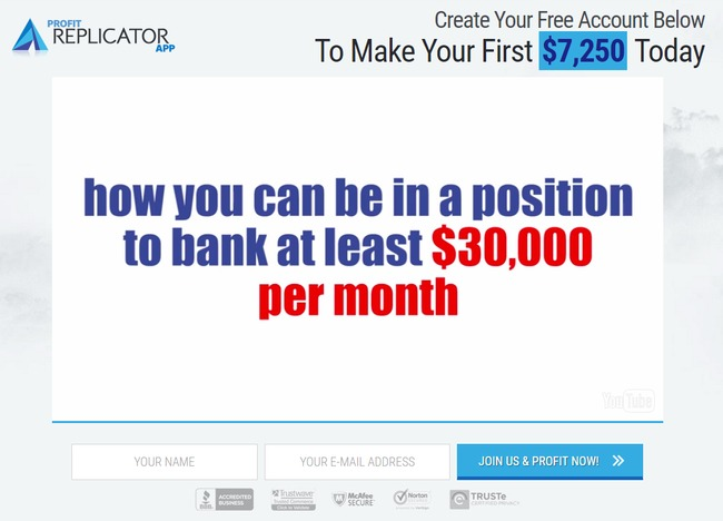 profit replicator app scam review
