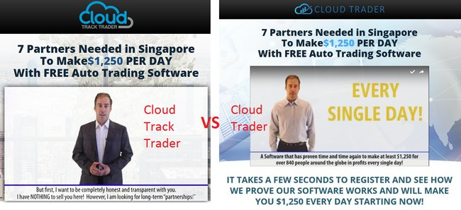 cloud track trader scam review