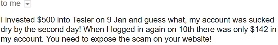 tesler scam review