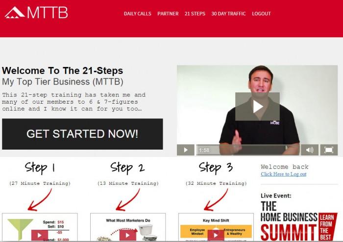 mttb 21 steps