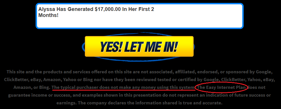 copy my websites disclaimer