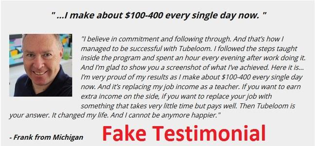 tubeloom review fake members