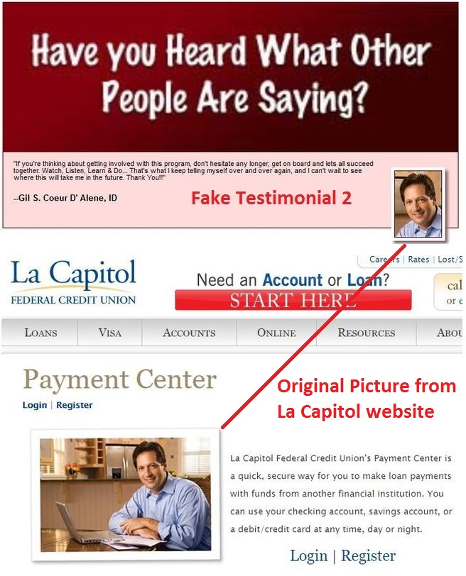 auto home profits fake member 2