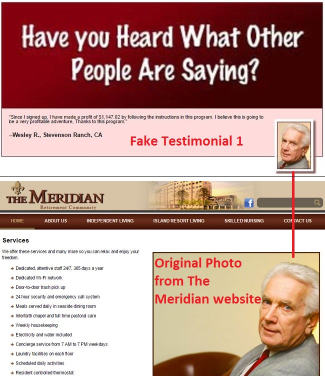 auto home profits fake testimonial 1
