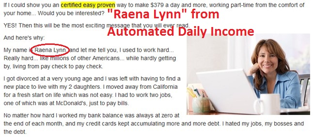 auto home profits sister scam