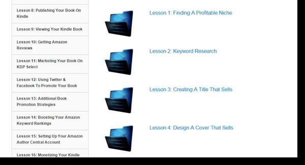 k money mastery lesson list