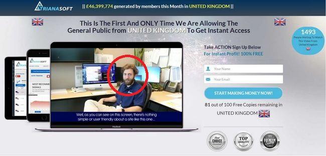 infinity app trianasoft founder