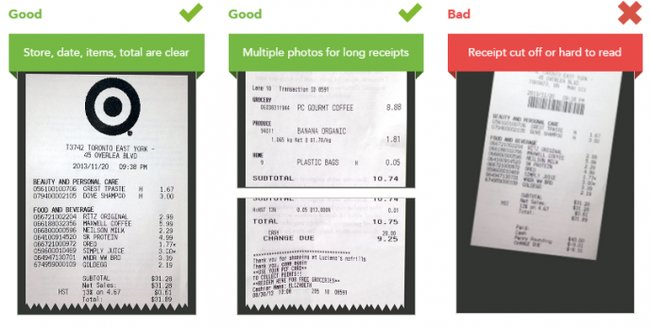 checkout 51 good receipt example